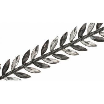 Bracelet Ted lapidus bijoux D56143NNZ - Bracelet Floral  Métal Noir