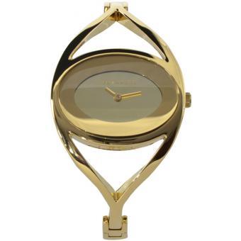 Montre Ted Lapidus B0212PJNX - Montre Ovale Dorée Femme