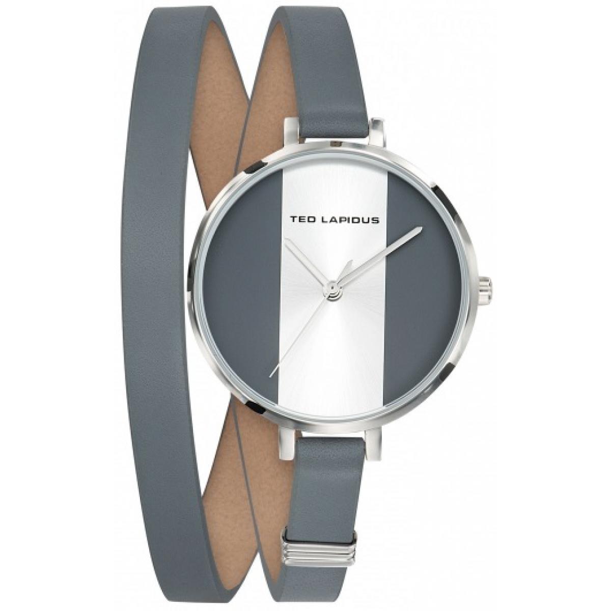 montre femme double bracelet cuir