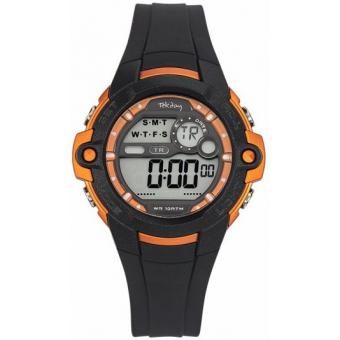 Montre TEKDAY 653841 - Montre Ronde Orange Enfant
