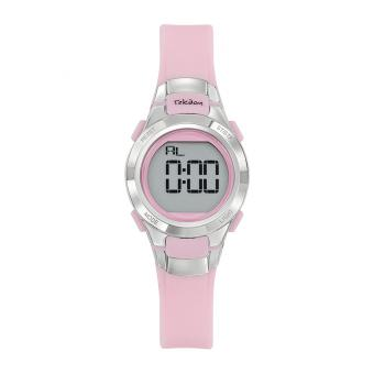 Montre Tekday 654667 - Bracelet Silicone Rose Boitier Silicone Rose