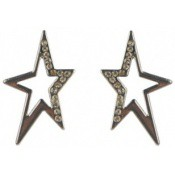 Boucles d'oreilles Thierry Mugler Bijoux Stylées Etoiles Facettées T31266Z