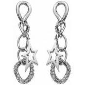 Boucles d'oreilles Thierry Mugler Bijoux Étoiles Pendantes T31279Z - Promos