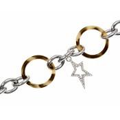 Bracelet Thierry Mugler Bijoux Bicolore Chic Classe T51272WZ
