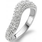 Bague Strass Argent - Ti Sento - Chic