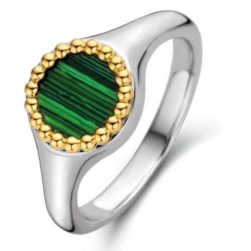 Bague Ti Sento Malachite Lights 12207MA