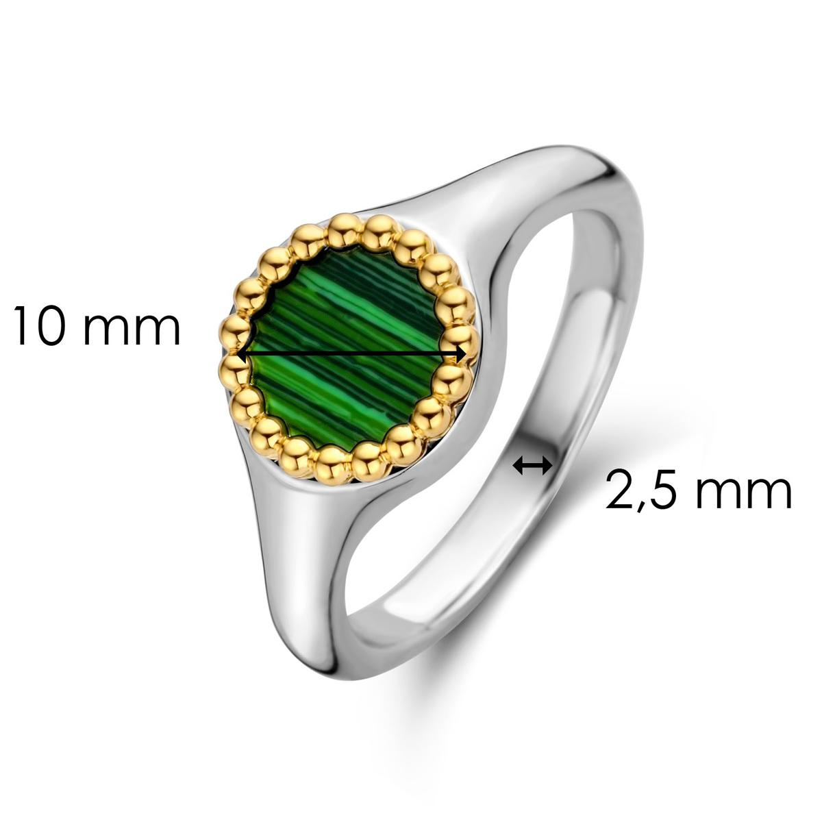 Bague fille Ti Sento Bijoux 12207MA-54 - Malachite lights