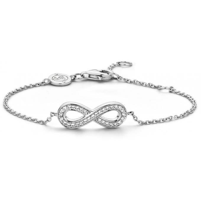 bracelet ti sento 2823zi bracelet infini argent strass femme sur bijourama r f rence des. Black Bedroom Furniture Sets. Home Design Ideas