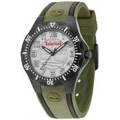 Montre Timberland 14323MSB-13 - Montre Analogique Silicone Vert Homme