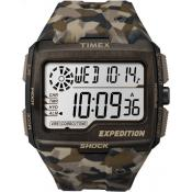 Montre Timex Expedition TW4B07300SU - Montre Expedition Résine Camouflage Homme