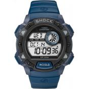 Montre Timex Expedition TW4B07400SU - Montre Expedition Résine Bleu Homme