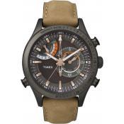 Montre Timex Cuir caramel TW2P72500D7