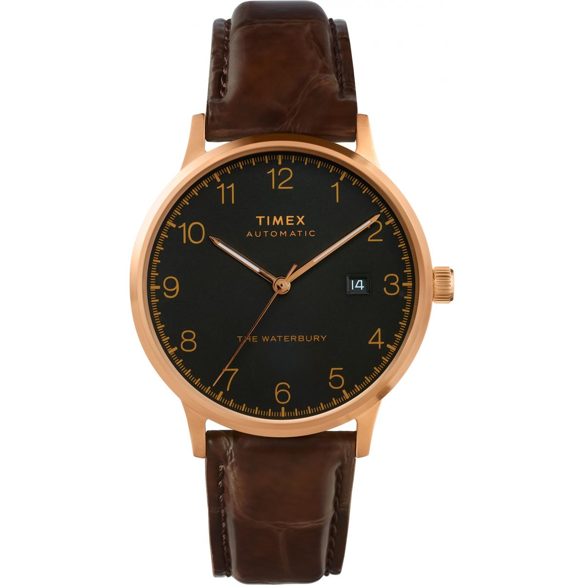 montre Timex montres Waterbury Classic Automatic TW2T70100 - montre  Homme