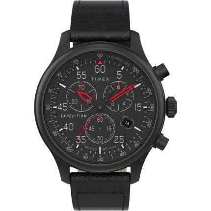 montre Timex montres Expedition ® Field Chronograph TW2T73000 - montre  Homme