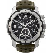 Montre Timex Verte Chronographe T49626D7