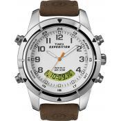 Montre Timex Multifonction Cuir T49828D7