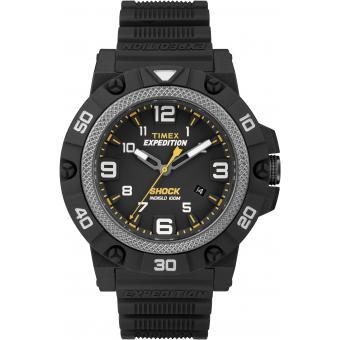 Montre Timex Montre TW4B01000SU - Montre Noire Étanche Homme