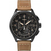 Montre Timex Cuir Camel Chronographe T2P277D7