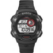 Montre Timex Ronde Noire  Robuste T49977SU