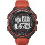 Montre Timex Ronde Orange Résistante T49984SU