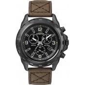 Montre Timex Cuir Marron Elégante T49986D7