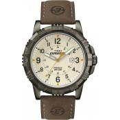 Montre Timex Cuir Ronde Chic T49990D7