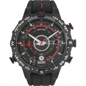 Montre Timex Sport noire rouge T2N720D7