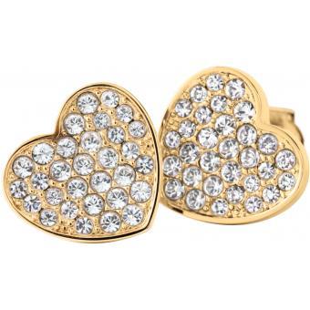 Boucles d'oreilles Tommy Hilfiger Bijoux 2700655 - Boucles d'oreilles Coeurs Dorées