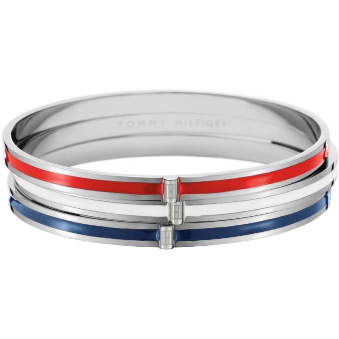 bracelet tommy hilfiger 2700138 bracelet joncs tricolore femme sur bijourama r f rence des. Black Bedroom Furniture Sets. Home Design Ideas