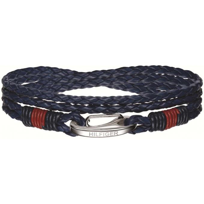 bracelet tommy hilfiger 2700536 bracelet tresse bleu homme sur bijourama r f rence des bijoux. Black Bedroom Furniture Sets. Home Design Ideas