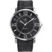 Montre Trendy Classic Bristol CC1031-02 - Montre Crocodile Brillant Homme