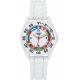 Trendy Junior - Montre Trendy Junior KL379 - Silicone Blanc Boucle simple Enfant Mixte