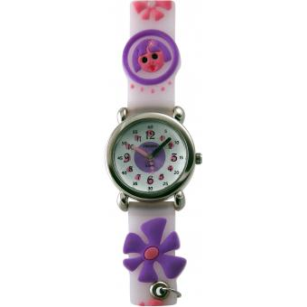 Montre Trendy Kiddy KL54 - Montre Silicone Blanche Enfant