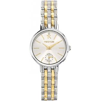 Montre Trendy Kiss TMG10074-31 - Montre Chronographe Bicolore Femme