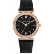 Trendy Kiss - Montre Trendy Kiss TRG10098-02B - Montre Noire Femme