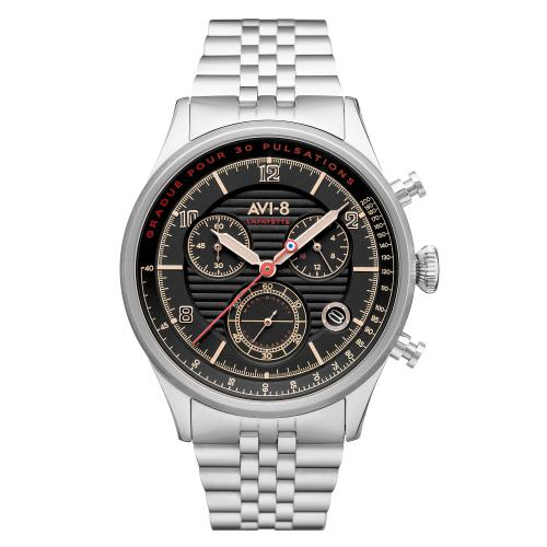 Avi-8 - Montre AVI-8 Flyboy Lafayette AV-4076-33 - Montre - Nouvelle Collection