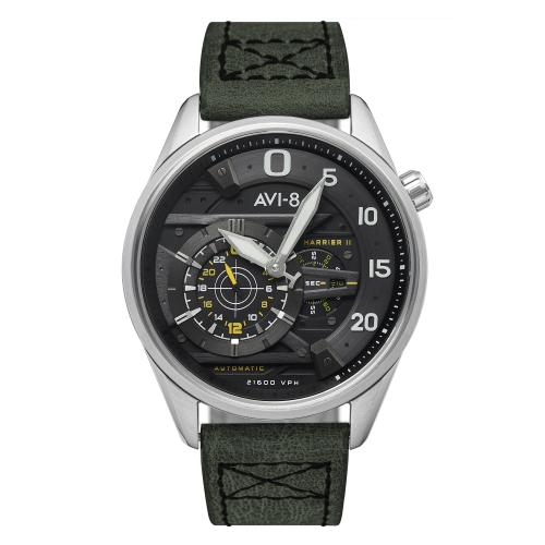 Avi-8 - Montre AVI-8 Hawker Harrier II AV-4070-01 - Montre Automatique Homme