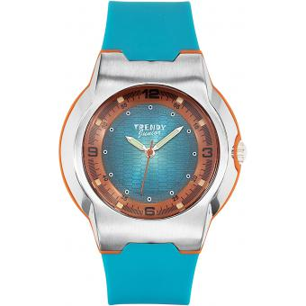 Montre Trendy Junior KL253 - Montre Résine Bleue Enfant