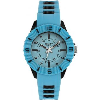 Montre Trendy Junior KL258 - Montre Résine Bleue Enfant