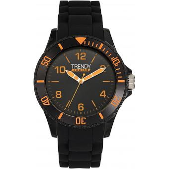 Montre Trendy Junior KL282 - Montre Silicone Orange Enfant
