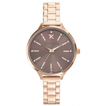 Montre Trendy Kiss TMG10069-09 - Montre Analogique Or rose Femme