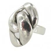 Bague 07-11 métal argenté - Ubu