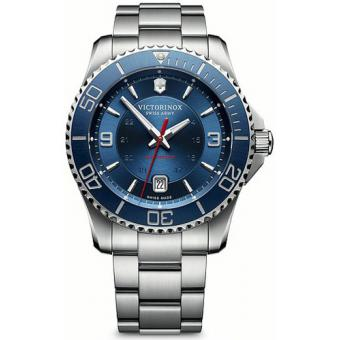 Montre Victorinox Maverick 241706 - Montre Bleue Automatique Homme