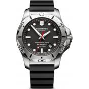 Montre Victorinox I.N.O.X 241733 - Montre Silicone Noire Homme