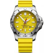 Montre Victorinox I.N.O.X 241735 - Montre Silicone Jaune Homme