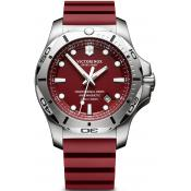 Montre Victorinox I.N.O.X 241736 - Montre Silicone Rouge Homme