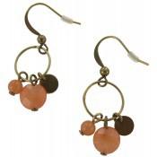 Boucles d'oreilles Zelda Poudre - Virginie Monroe
