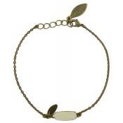 Bracelet Happy Ecru - Virginie Monroe