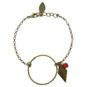 Bracelet Nomade Corail - Virginie Monroe