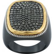 Bague Zadig & Voltaire HEROES ZWKR46TN - Bague Bicolore Strass Femme